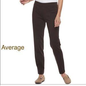 Women's CROFT & BARROW Straight Leg Ponte Pants